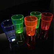 UV Reactive Pint Glasses (6 Pack) 3