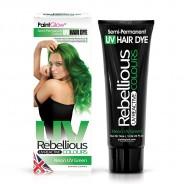 UV Semi Permanent Hair Dye  4 Neon UV Green