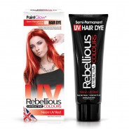 UV Semi Permanent Hair Dye  10 Neon UV Red