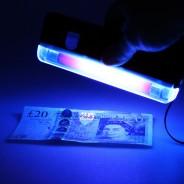 UV Blacklight Torch & Money Checker 1