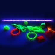 UV reactive toys not included