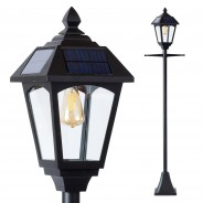 Solar Victoriana Lamp Post 3