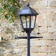 Solar Victoriana Lamp Post 2