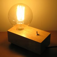 Vintage Flick Switch Lamp (ABC2601) 1