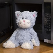 Warmies Plush Blue Cat 1