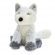Warmies Marshmallow Grey Fox 2