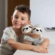 Warmies Microwave Hugs Soft Toys 2 Sloths