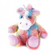 Warmies Plush Unicorn 2 Rainbow Unicorn