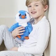 Warmies Plush Blue Penguin 1