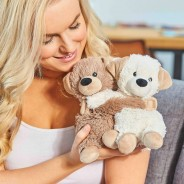 Warmies Microwave Hugs Soft Toys 5 Puppies