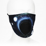 Washable Face Masks 3 Black Hole