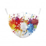 Washable Face Masks 7 Paint Splash