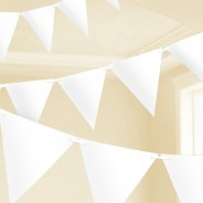 White Paper Bunting 4.5m 1