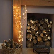 Gold Willow Twig Lights 2