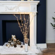 Gold Willow Twig Lights 4