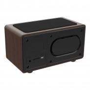 Wireless Bluetooth Speaker QI Charger & Radio 9