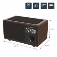 Wireless Bluetooth Speaker QI Charger & Radio 7