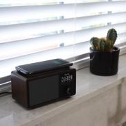 Wireless Bluetooth Speaker QI Charger & Radio 6