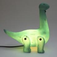 Wood Effect Diplodocus Lamp 4
