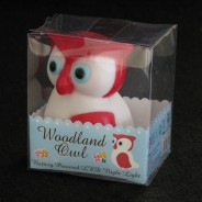 Woodland Owl LED Night Light 3