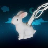 Woodland Rabbit Party Lights 3