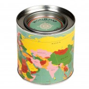 World Map Musk Scented Candle 3