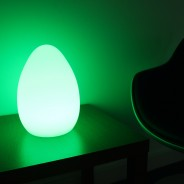 XL Colour Change Rechargeable Egg 28cm 1