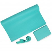 Yoga Kit - Starter Mat, Block and Belt 3