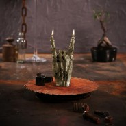 Zombie Rock Hand Candle 2