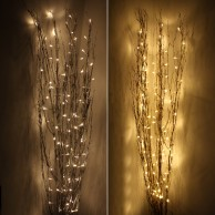 1.2M Holograph Glitter Twig Light