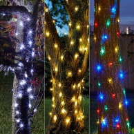 100 Solar Firefly String Lights