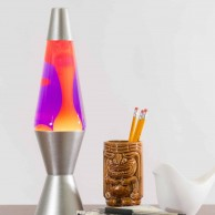 "14.5"" Lava Lamp Yellow/Purple"