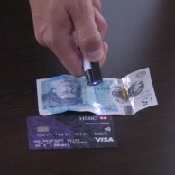 2 in 1 UV Light and Money Detector Pen