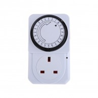 24 Hour Plug-In Timer Socket