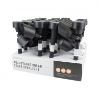 24 x Adjustable Solar Stake Spotlights