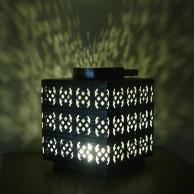 25cm Square Filigree Lantern