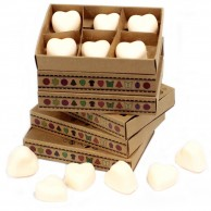 Soy Wax Heart Melts (6 pack)