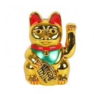 """8"""" Lucky Gold Money Cat"""