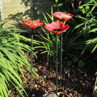 Poppy Bird Feeders (8 pack)