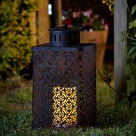 Battery Operated Ottoman Lantern