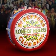 The Beatles Sgt Pepper LED Drum