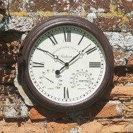 """Bickerton Clock and Thermometer (Large 15"""")"""
