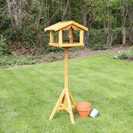 Bird Table with Built in Feeder