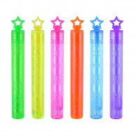 Neon Star Bubble Tubes (12 pack)