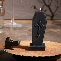 Halloween Coffin Candle
