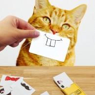 Cat Snap Photo Prop Cards