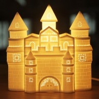 3D Ceramic Lamp Castle