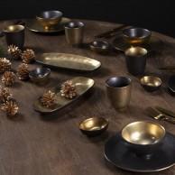 Ceylon Black and Gold Ceramics
