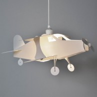 Childrens Aeroplane Pendant (19035)