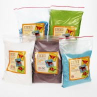 5 Pack of Coloured Sand